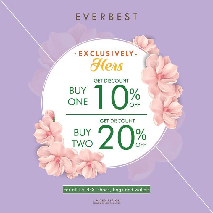 Diskon Hingga 20% dari Everbest