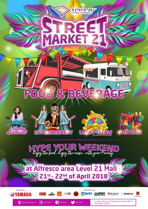 Street Market 21 di Level 21 Mall