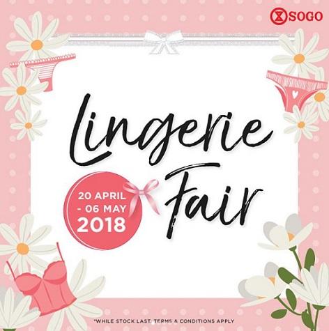 Lingerie Fair at SOGO Dept Store