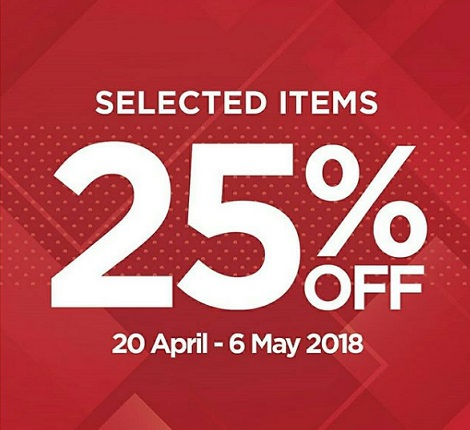 Discount 25% from Wakai
