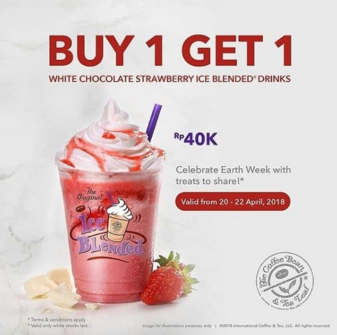 Buy 1 Get 1 Free from The Coffee Bean & Tea Leaf