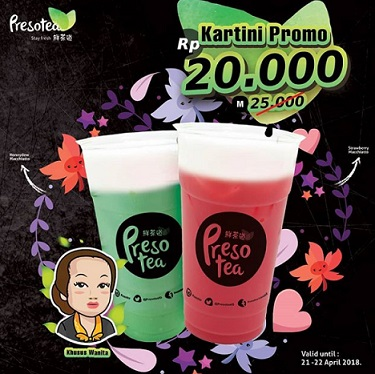 Special Price Rp 20.000 from Presotea