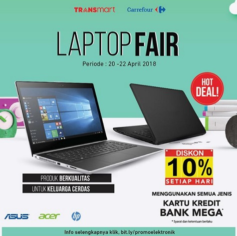 Laptop Fair at  Transmart Carrefour