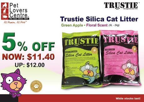 Discount 5% at Pet Lovers Centre