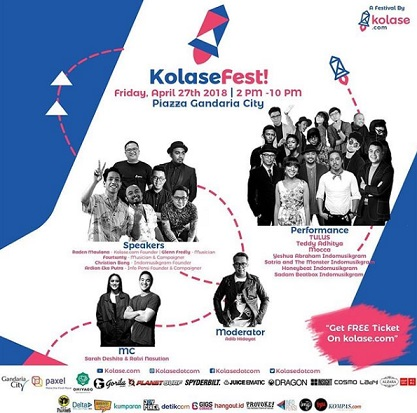 Kolase Fest at Gandaria City