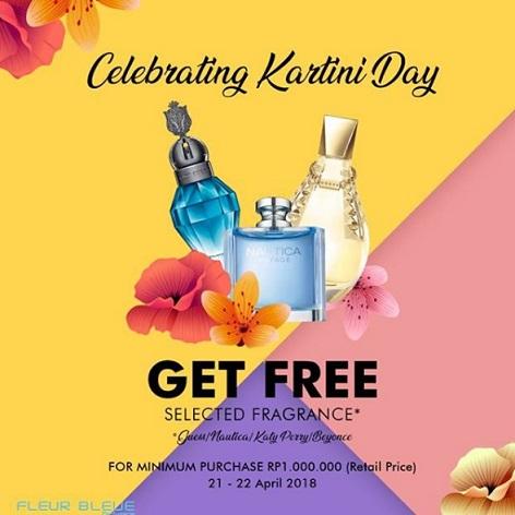 Free Fragrance Fleur Blue at Matahari Department Store CSB Mall