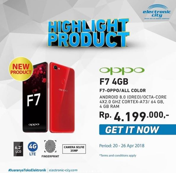 Oppo F7 Promotion at Electronic City