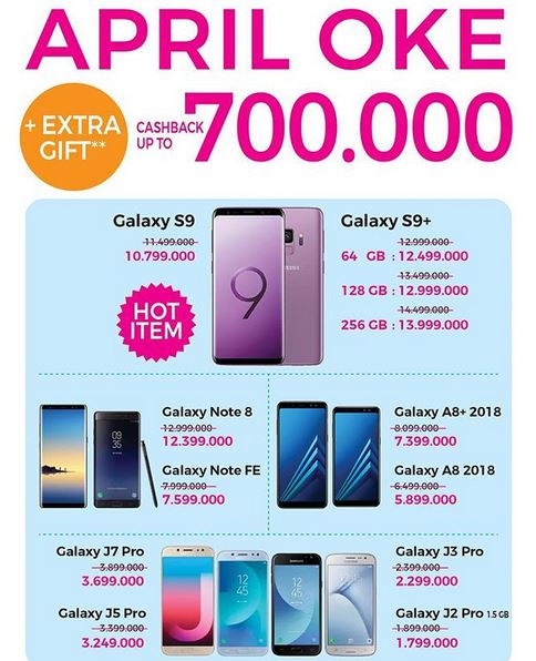 Cashback Up to Rp 700.000 at Oke Shop