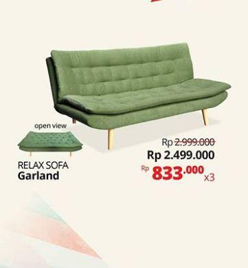 Lokasi Harga Spesial Relax Sofa Garland Dari Informa Di Indonesia Gotomalls Com