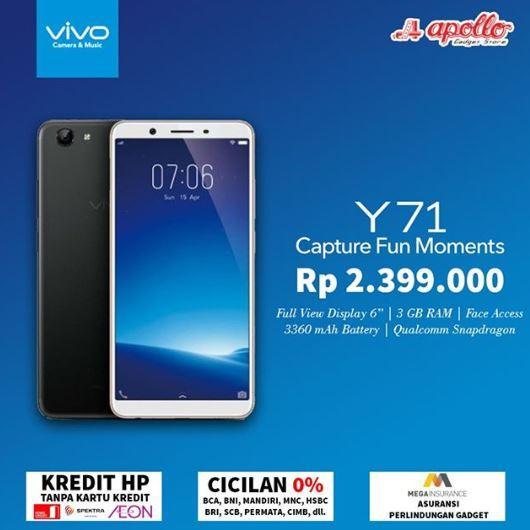 Special Price Promo Vivo Y71 From Apollo Gotomalls