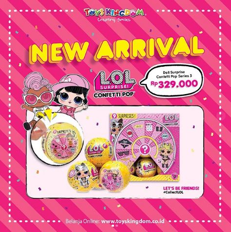 Special Price Lol Surprise Doll Series 3 Confetti Pop From Toys