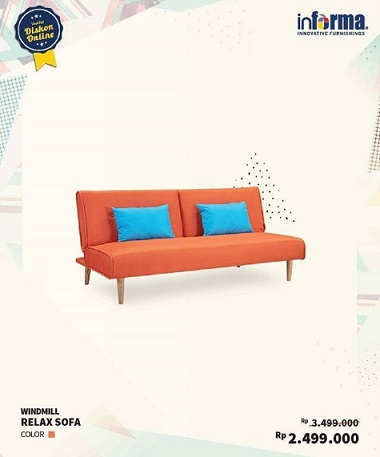 Special Price Windmill Relax Sofa At Informa Qbig Bsd City