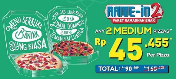 Special Price Rp 45 455 From Domino S Pizza Gotomalls