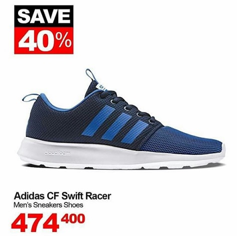 823679707 Discount 40% Adidas CF Swift Racer at Sports Station - fX Sudirman