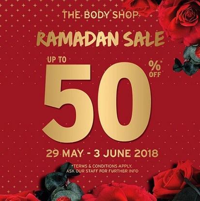 Body Central Sale >> Ramadhan Sale Up To 50 Dari The Body Shop Samarinda