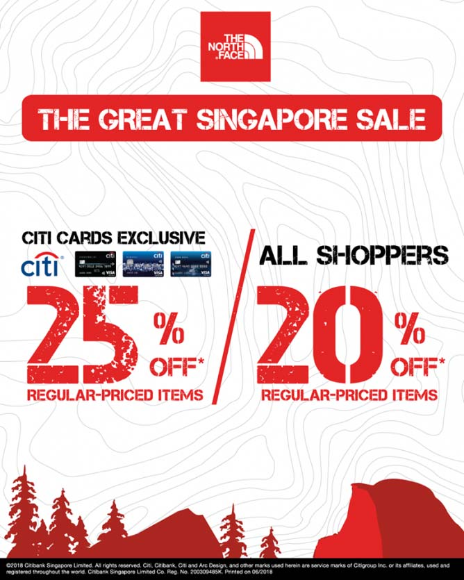 6eb925261c Discount Up to 25% from The North Face - ION Orchard
