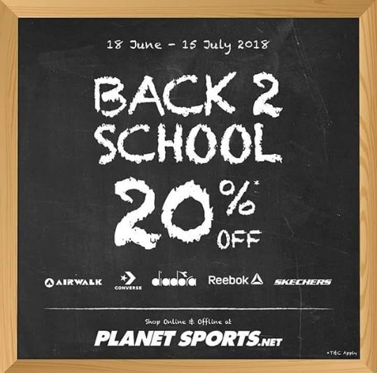 054f419133 Discount 20% from Planet Sport - Central Park