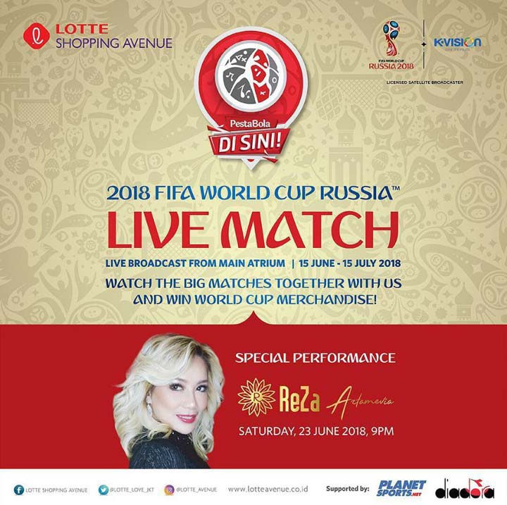Live Broadcast 2018 Fifa World Cup Russia At Lotte Shopping Avenue