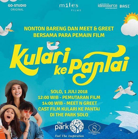 Meet greet film kulari ke pantai at the park gotomalls meet greet film kulari ke pantai at the park m4hsunfo