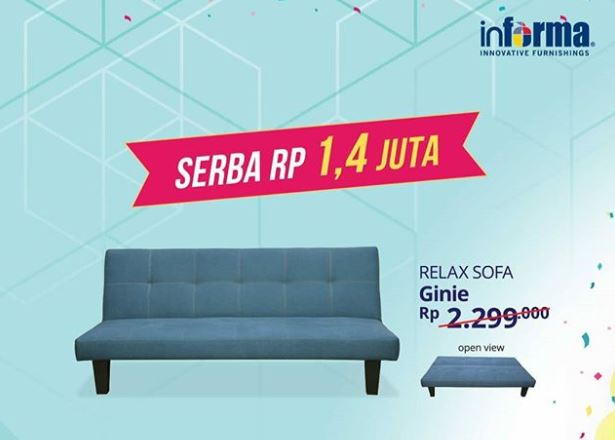 Special Price Relax Sofa From Informa Living World Alam Sutera