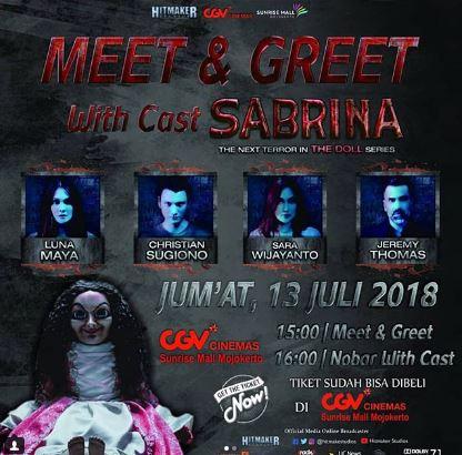 Meet greet film sabrina at sunrise mall gotomalls meet greet film sabrina at sunrise mall m4hsunfo