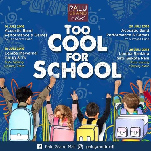 Too Cool For School Di Palu Grand Mall Gotomalls