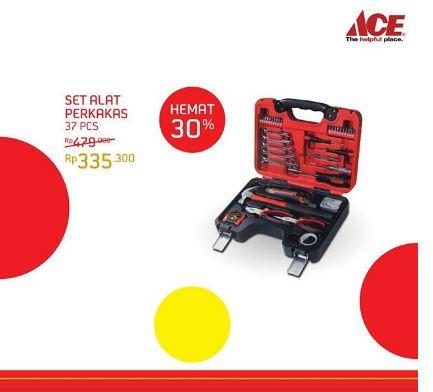 save 30% set of tools from ace hardware - hartono mall jogja
