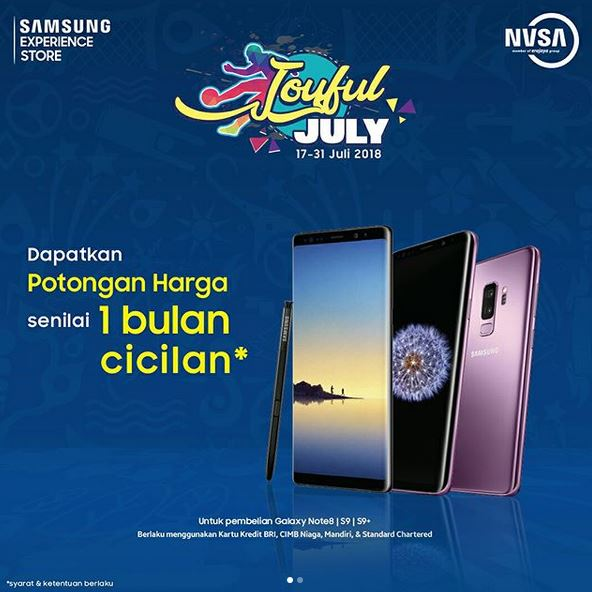 Cashback 1 Month Installment from Samsung - AEON Mall BSD City