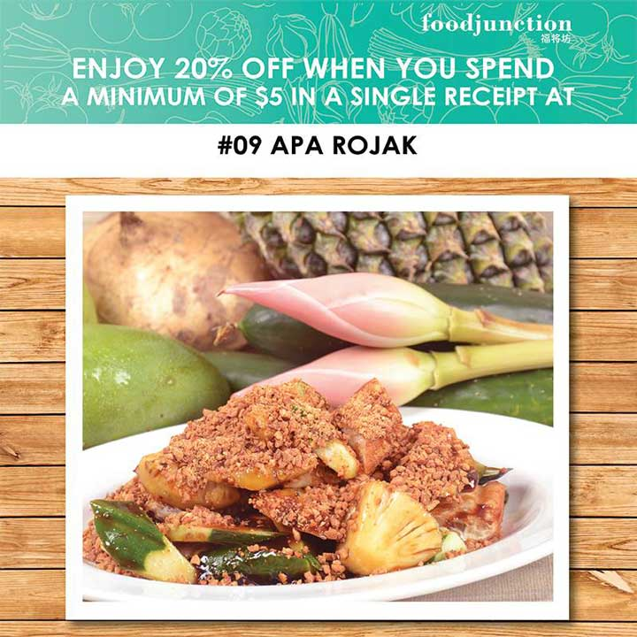 20 Off From Food Junction Gotomalls