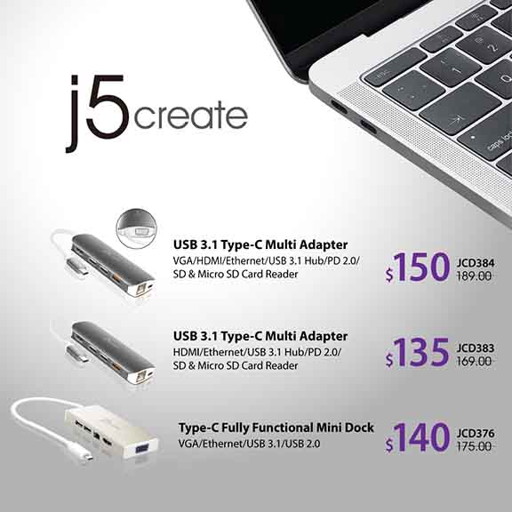 Special Price For J5 Create From Nubox - Causeway Point