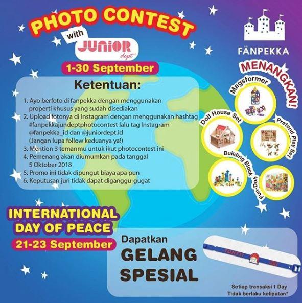 Photo Contest with Junior with Fanpenkka at AEON Jakarta Garden City