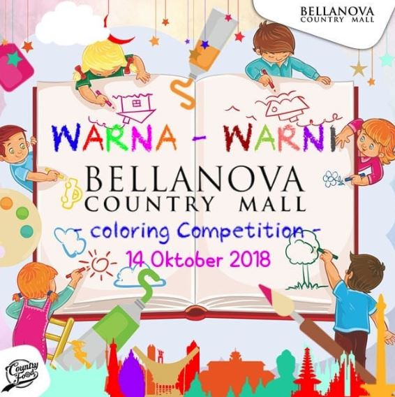 Coloring Competition at Bellanove Country Mall - Gotomalls