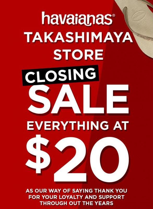 ed051622852e Closing Sale At Havaianas - Gotomalls