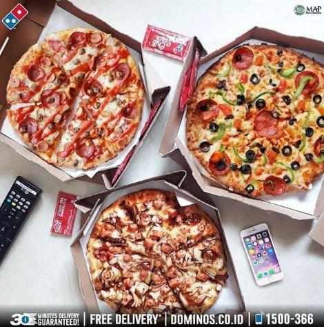 Promo Papi Trio Package At Domino S Pizza Epiwalk