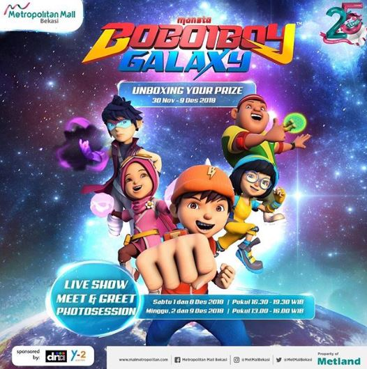 Unboxing Your Prize With Boboiboy Galaxy Gotomalls