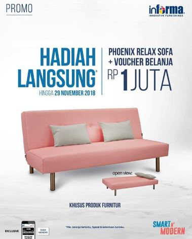 Direct Gift Promo From Informa Tunjungan Plaza