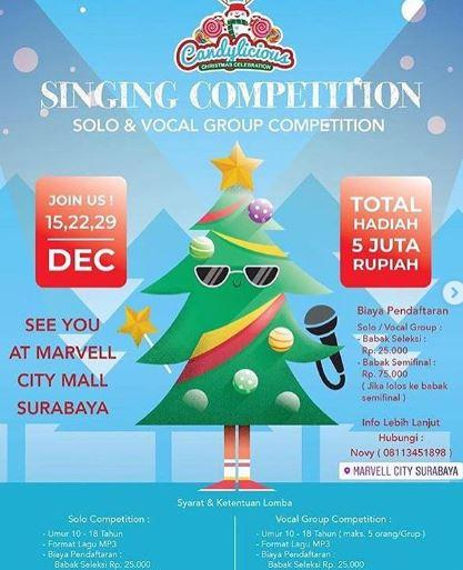 Solo Singing Competition and Group Vocal Contest at Marvell