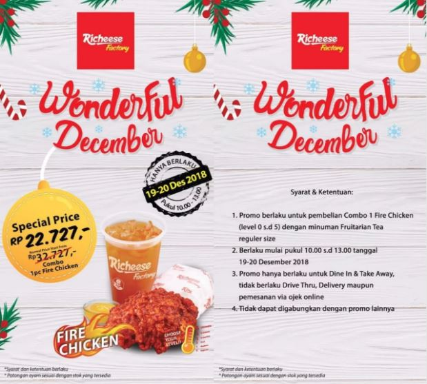 Special Price Rp 22 727 At Richeese Factory Maspion Square