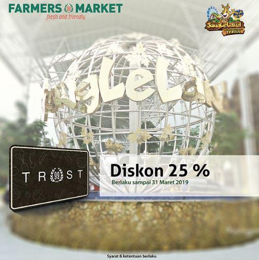Promo Diskon 25 Di Farmers Market Desember 2018 Living Plaza Kota Harapan Indah
