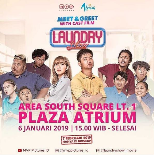 Meet Greet Laundry Show At Plaza Atrium Gotomalls