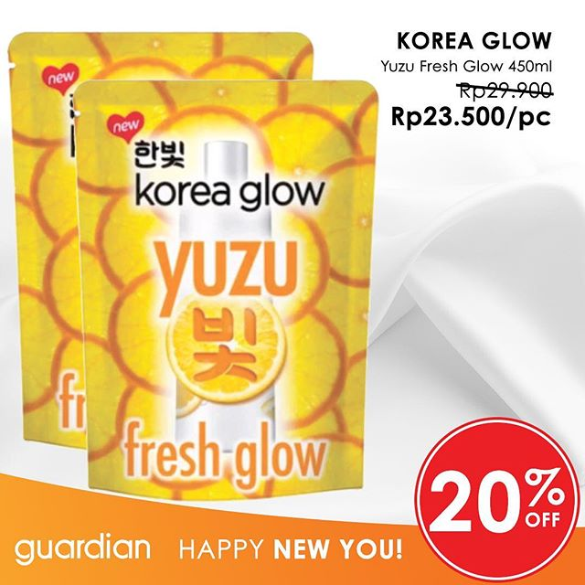 Yuzu Fresh Glow Promo In The Guardian Gotomalls