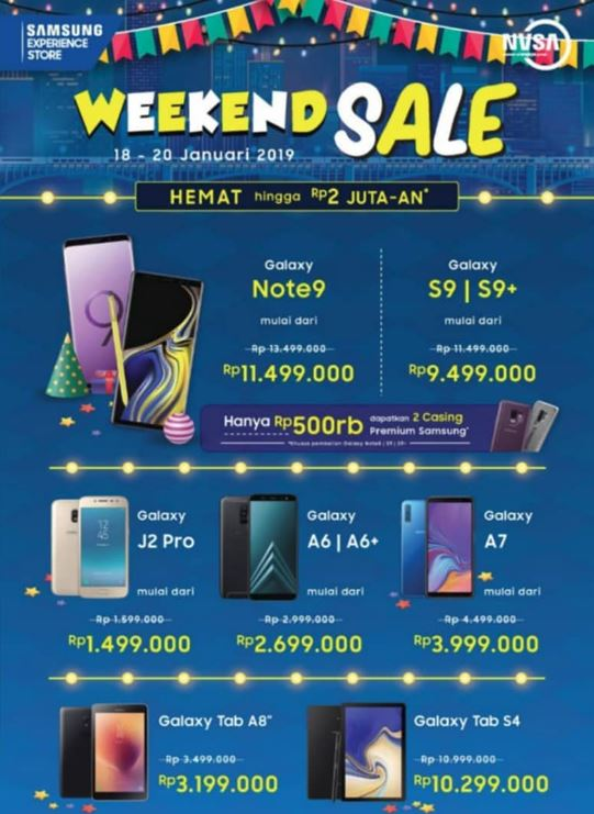 Weekend Sale From Samsung H3