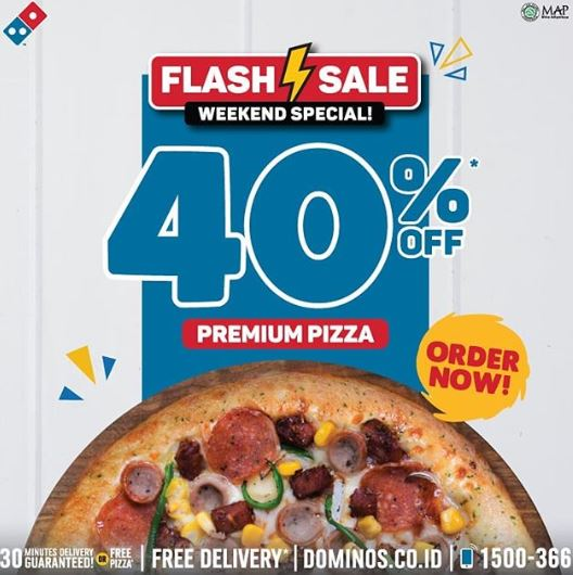 Discount 40 At Domino S Pizza Mall Grand Cakung