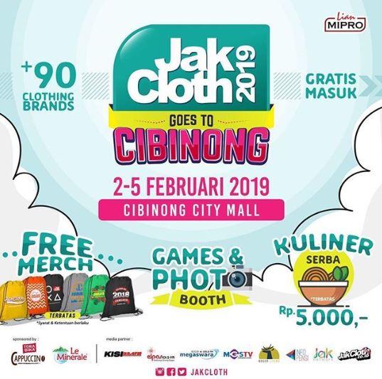 Jakcloth Goes To Cibinong At Cibinong City Malla Gotomalls
