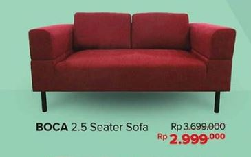 Discount 30 On Boca 2 5 Seater Sofa From Informa Kota Kasablanka