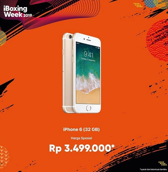 Special Price iPhone 6 Rp 3 499 000 at iBOX - Lippo Mall Puri