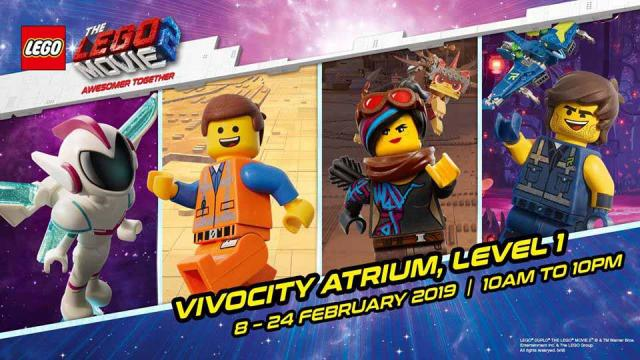 The Lego Movie 2 Event At Vivo City Gotomalls