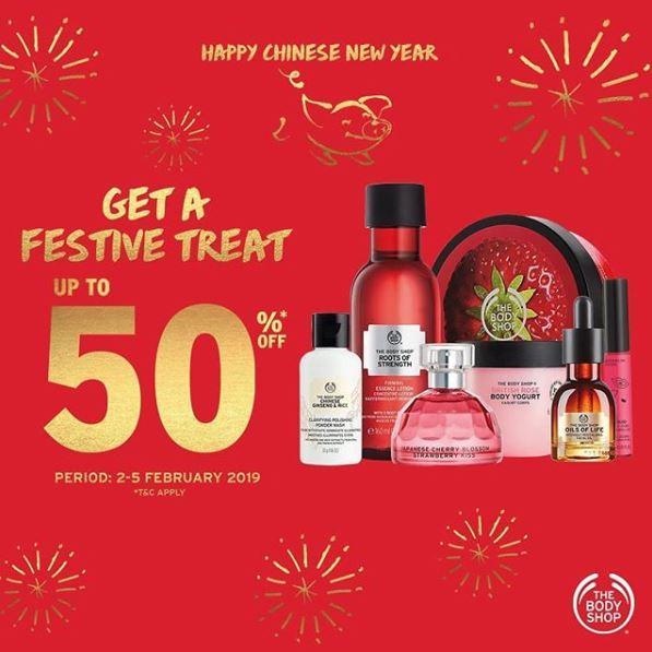 Diskon Hingga 50 Di The Body Shop Februari 2019 Cibinong City Mall