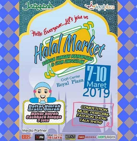 Event Halal Market at Royal Plaza - Royal Plaza