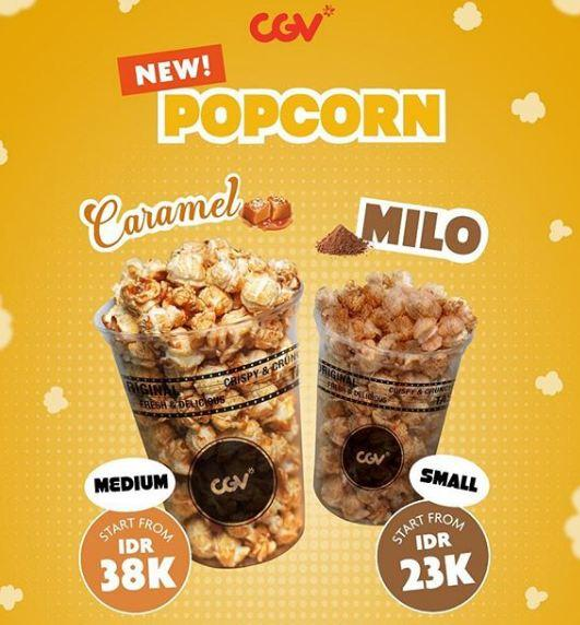 Special Popcorn Prices At Cgv Cinemas February 2019 Bella Terra